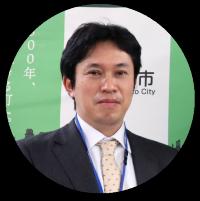 廣岡氏の写真