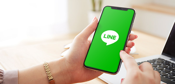 LINE Connects Users